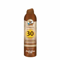 SPF 30 Continuous Spray Sunscreen with Instant Bronzer