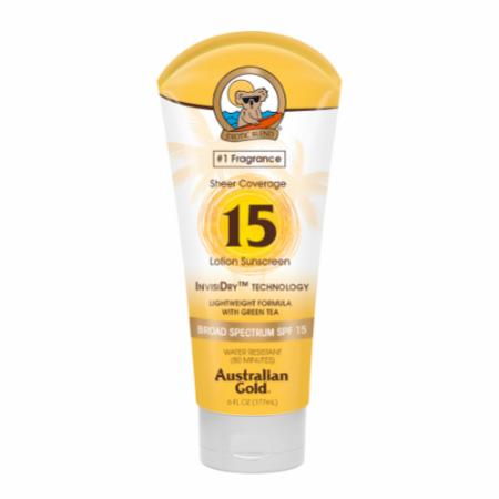SPF 15 Sheer Coverage Sunscreen Lotion