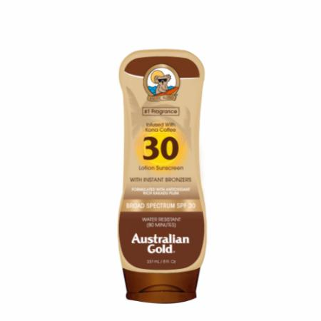 SPF 30 Sunscreen Lotion with Bronzers