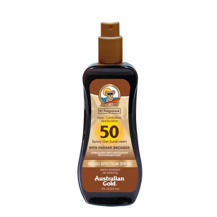 SPF50Spray Gel Bronzer