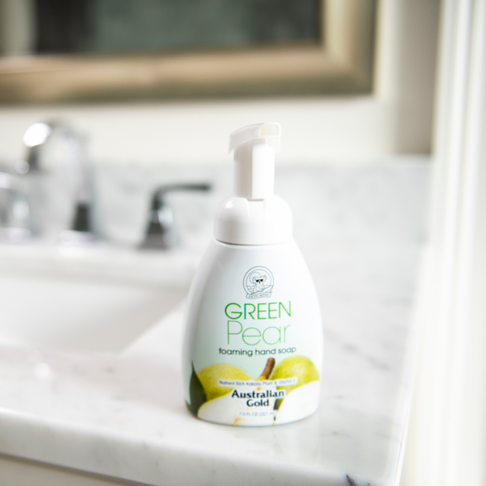 Green Pear Foaming Hand Soap Image
