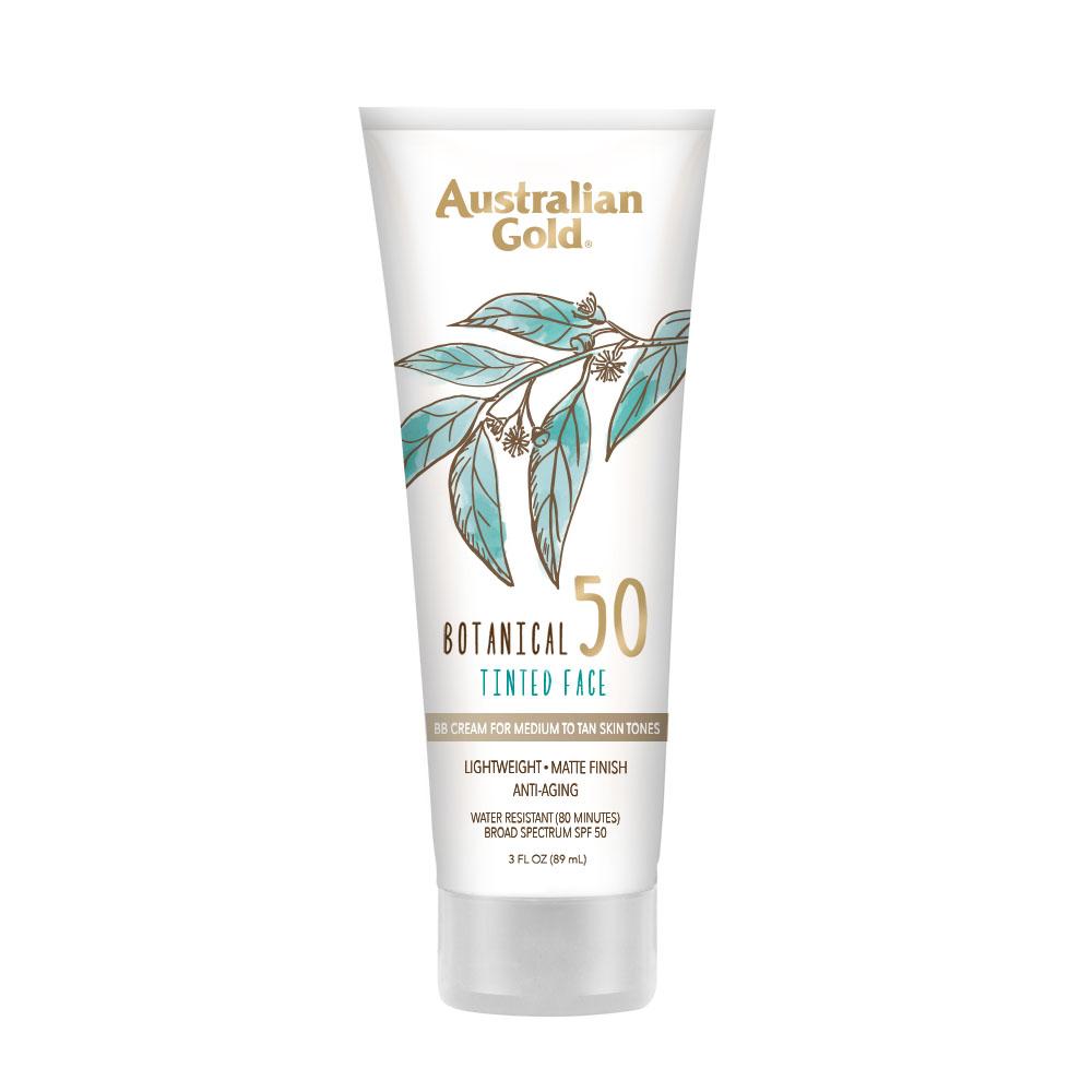 Botanical Spf 50 Tinted Face Sunscreen Lotion Medium To Tan